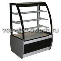 Кондитерские холодильные витрины CARBOMA ТЕХНО